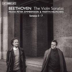 Sonatas 5–7 by Beethoven ;   Frank Peter Zimmermann ,   Martin Helmchen